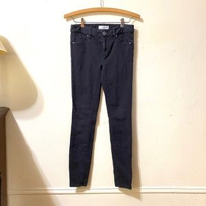 LOFT Black Skinny Jeans
